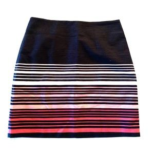 Striped Skirt by Loft